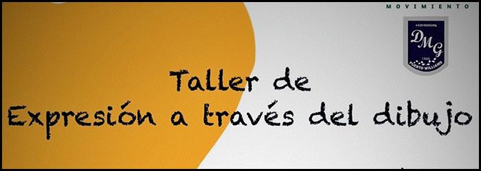 """Taller """"Expresión a través deldibujo"""""""